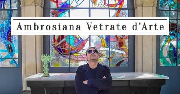 Realizzazione Vetrate Artistiche Milano Ambrosiana Vetrate